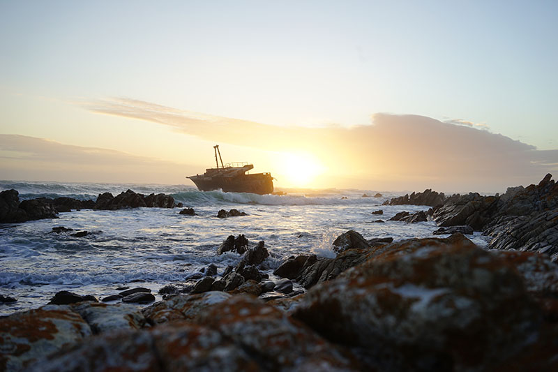 ship wreck in cape town